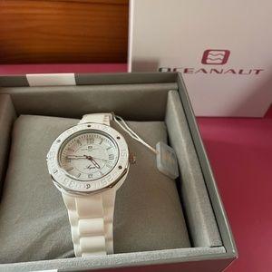 Oceanaut Women's Acqua White Watch